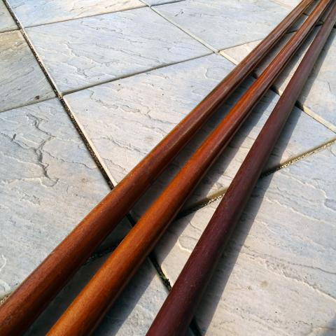 buy wing chun long poles, luk dim boon kwan